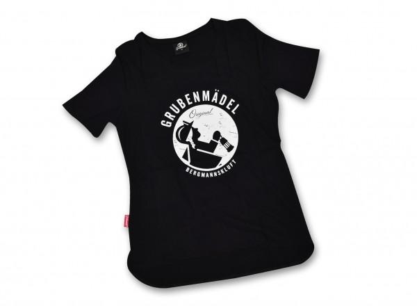 "Grubenmädel T-Shirt ""Einfahrerin"""