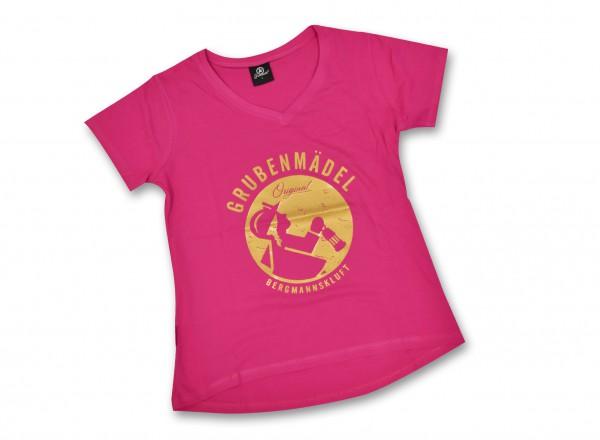 """Grubenmädel T-Shirt """"Grubengold"""" (Limitierte Auflage)"""