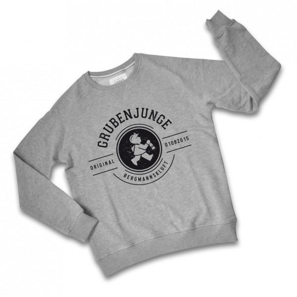 Grubenjunge Sweatshirt (grau / schwarz)