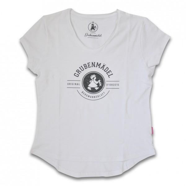 Grubenmädel T-Shirt (weiss)