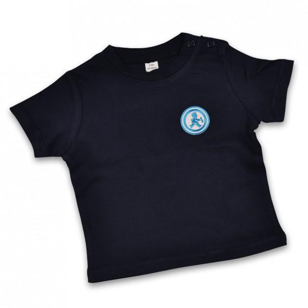 """Mats"" kurzarm Shirt mit Stickemblem"