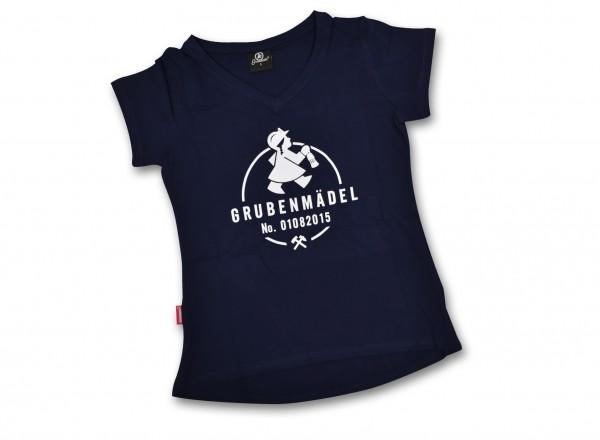 "Grubenmädel T-Shirt ""Bergmeisterin"""