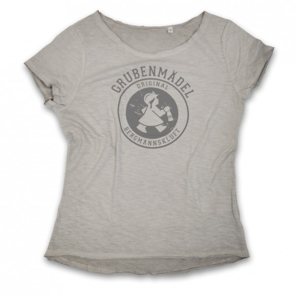Grubenmädel T-Shirt (hellgrau)