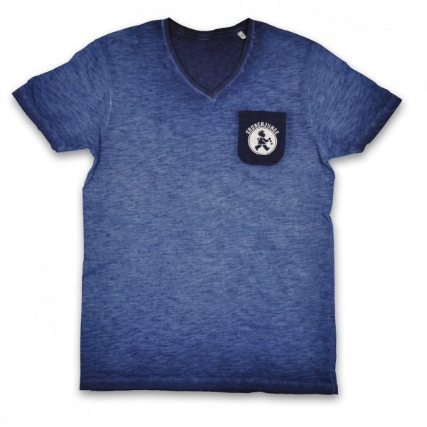 """""""Kohle"""" T-Shirt mit Brusttasche"""
