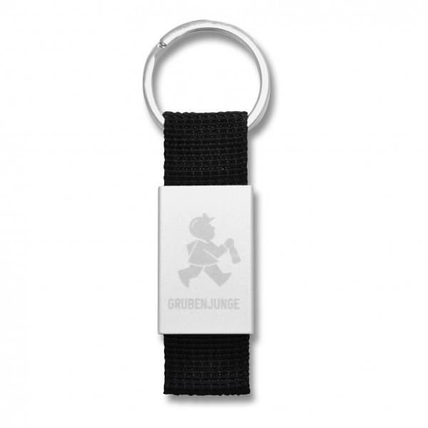 Grubenjunge Schlüsselriemen (schwarz)