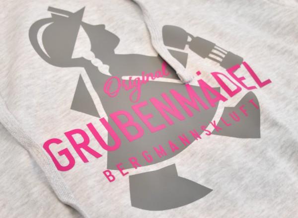 "Grubenmädel Kapuzen-Sweatshirt ""Fördermädel"""