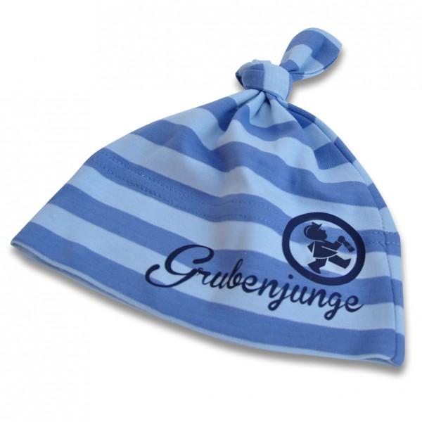 """One Knot Hat"" Baby Mütze in blau"