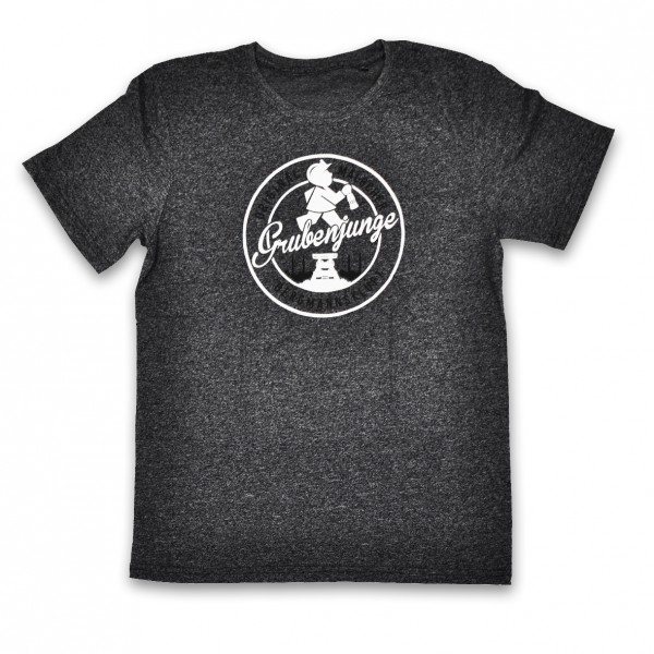 Grubenjunge T-Shirt (schwarz melliert)