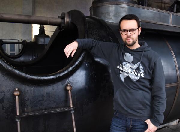 "Grubenjunge Kapuzen-Sweatshirt ""Förderknecht"""