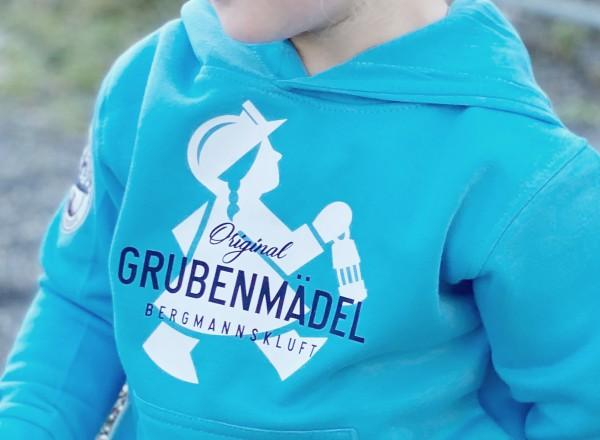 "Grubenmädel Kapuzen-Sweatshirt ""Kleines Fördermädel"""