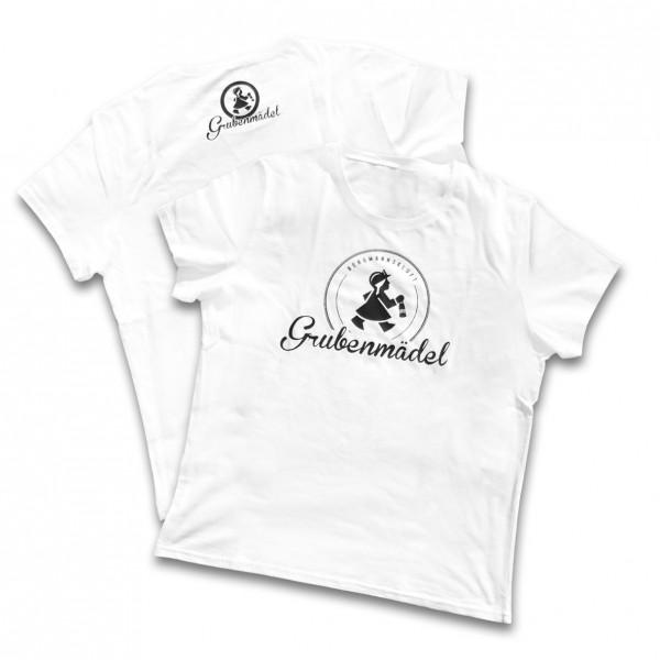 Grubenmädel T-Shirt (weiß)