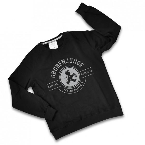 Grubenjunge Sweatshirt (schwarz / grau)
