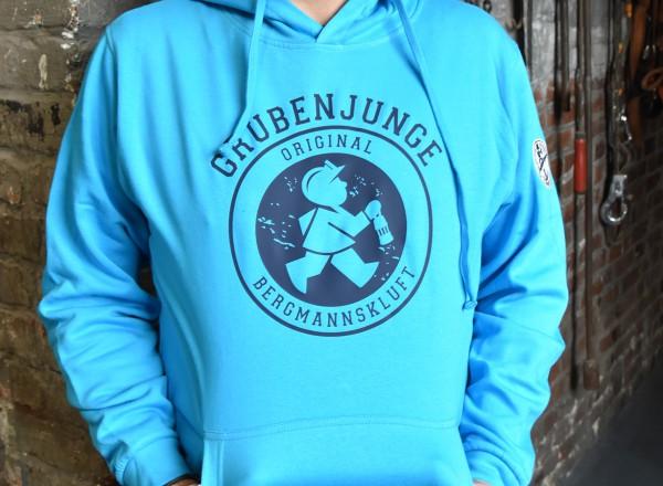 "Kapuzen-Sweatshirt ""Bergknappe"" mit Stickemblem"