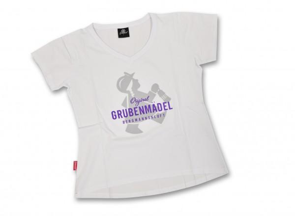 """Grubenmädel T-Shirt """"Schichtmeisterin"""""""