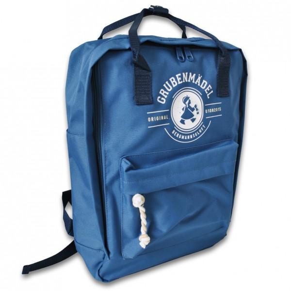 """Grubenmädel Rucksack """"Bergmann"""" (blau)"""