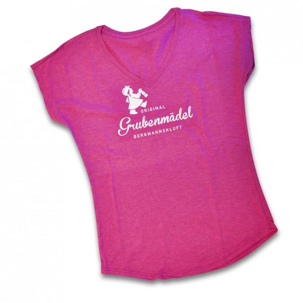 Grubenmädel T-Shirt (Himbeere)