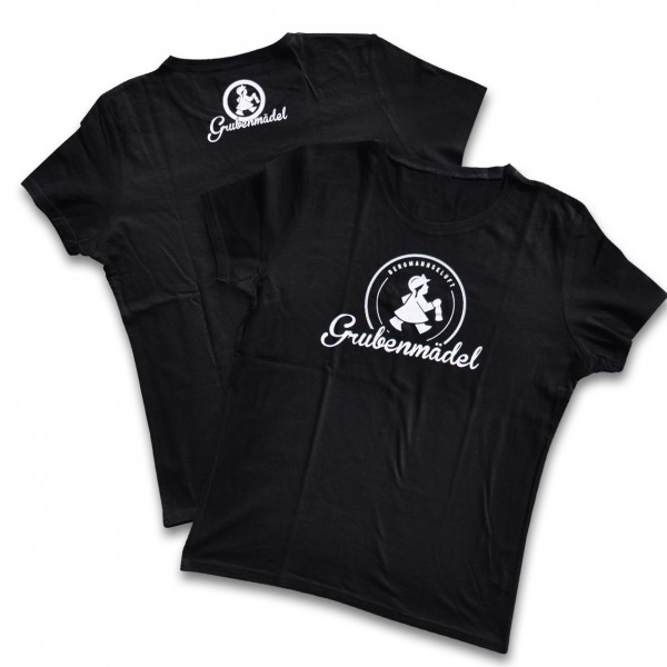 Grubenmädel T-Shirt (schwarz)