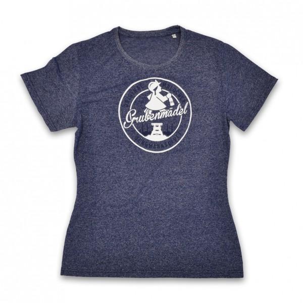 Grubenmädel T-Shirt (blau meliert)